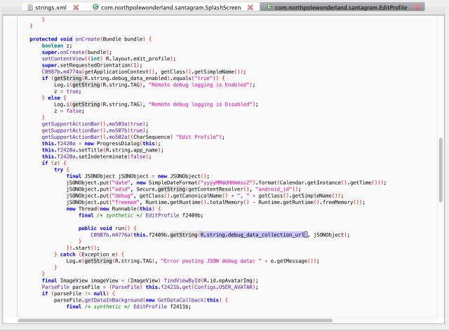 debugcode